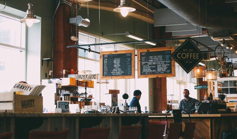 Drømmen om å jobbe fra cafe