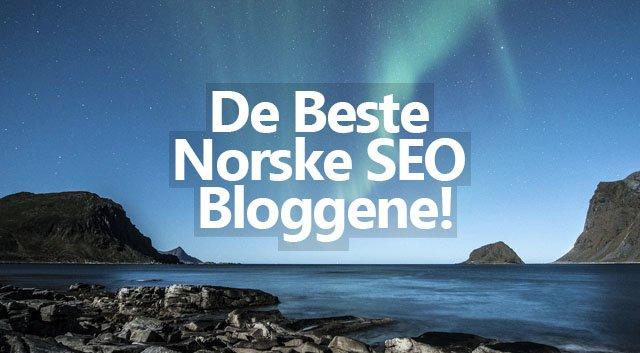 De 10 Beste Norske SEO Bloggene!
