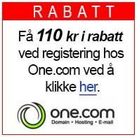 One.com rabatt